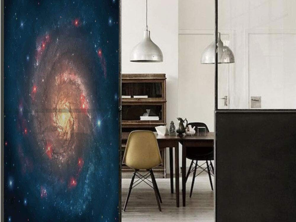 Outer Space 3D Decorative Film Privacy Window