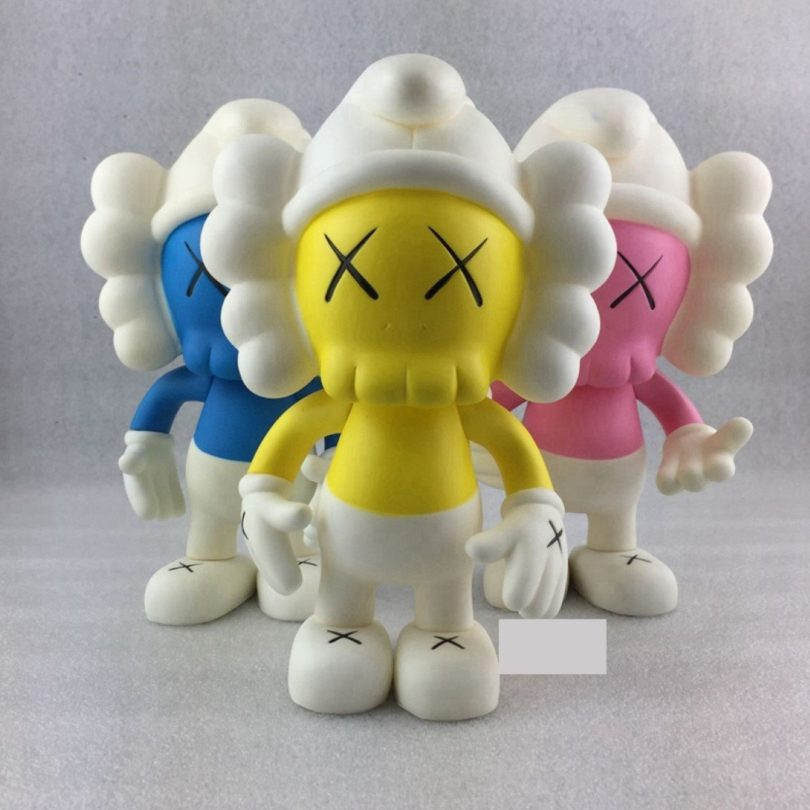 KAWS BFF Dissected 10 Inch Pink Yellow Blue Grey Eco-friendly