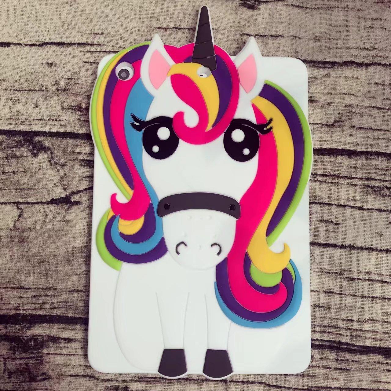 Awin Case Rainbow Unicorn iPad Mini Case