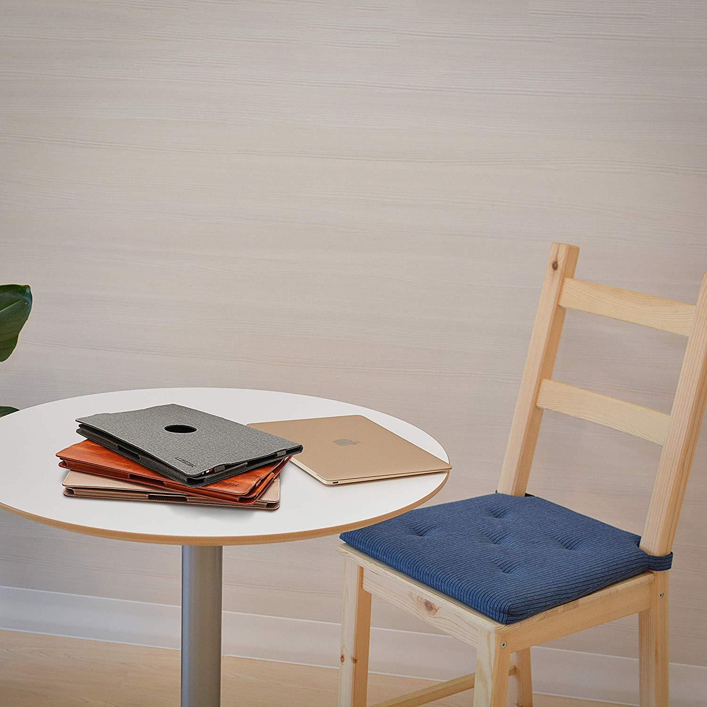 LUSQIK PU Leather Shell Case Compatible New MacBook Retina Pro 15 Inch