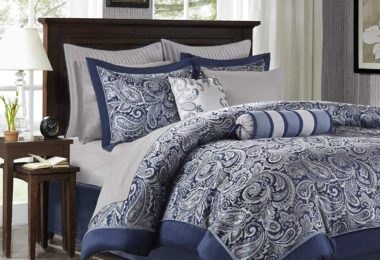 Madison Park Aubrey King Size Bed Comforter Set