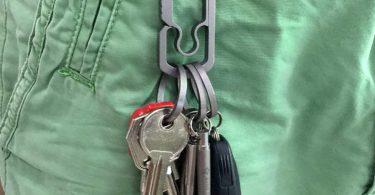 BANG TI Titanium Side-pushing Designed Key Rings