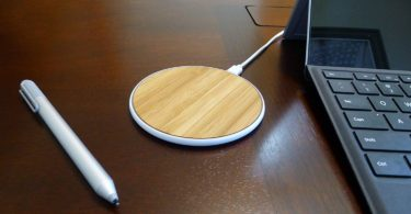 SurgeDisk Wireless Charger Qi Charging Pad Ultra Slim Sleep-Friendly Universal
