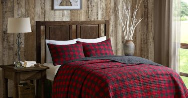 Woolrich Check Quilt Mini Set Full/Queen Red