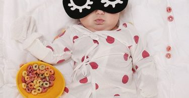 Fever Indicating Dot Pattern Baby Gown