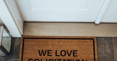 We Love Solicitation Doormat