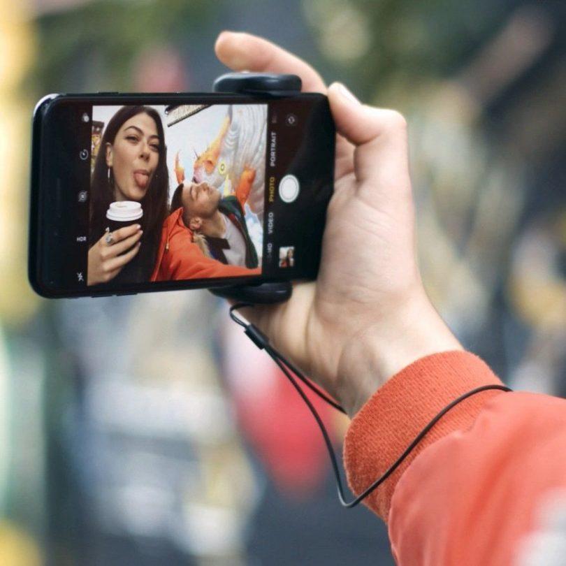 ShutterGrip Smartphone Camera Control