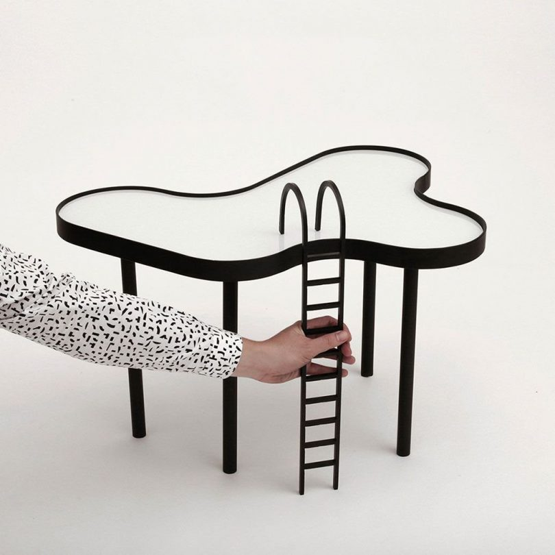 Small Swimming Pool Table by RAIN