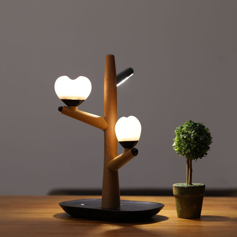 Tree Lamp Table