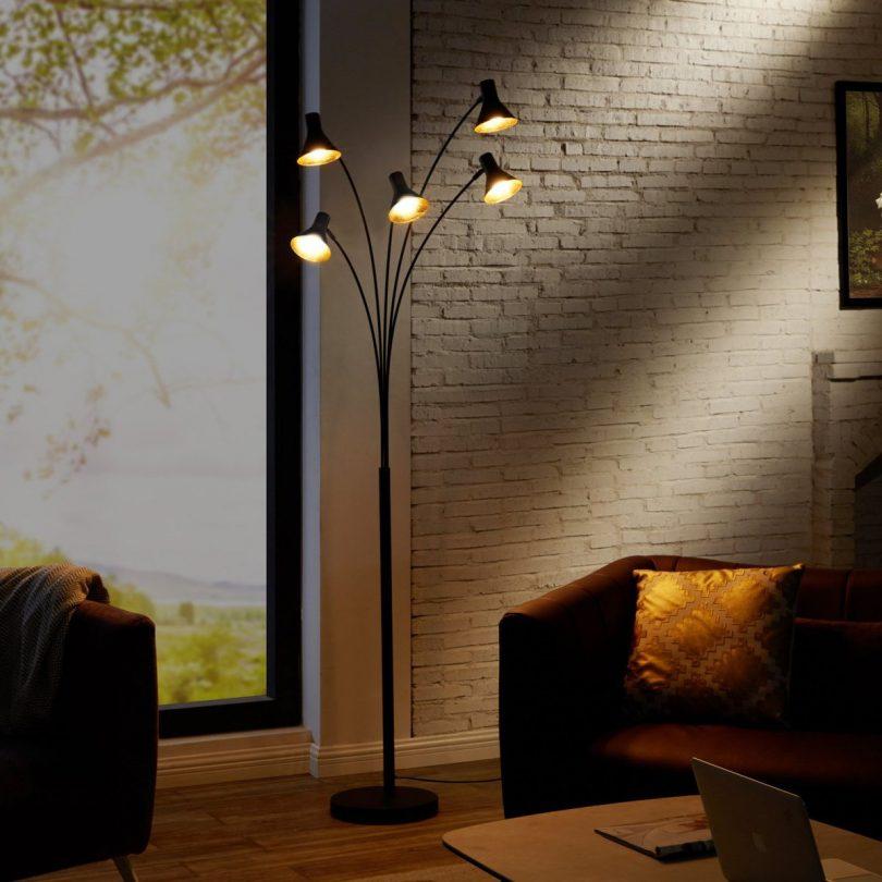 Cone 5-Arm Floor Lamp