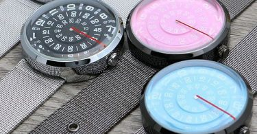 IK Colouring Automatic Mechanical Wrist Watch Dial Double-Sided