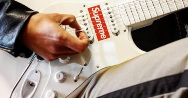 Supreme x Fender Stratocaster Guitar