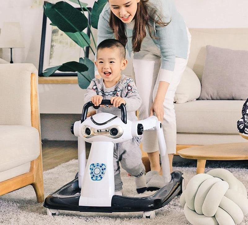 Multi Functional Anti Rollover Baby Walker