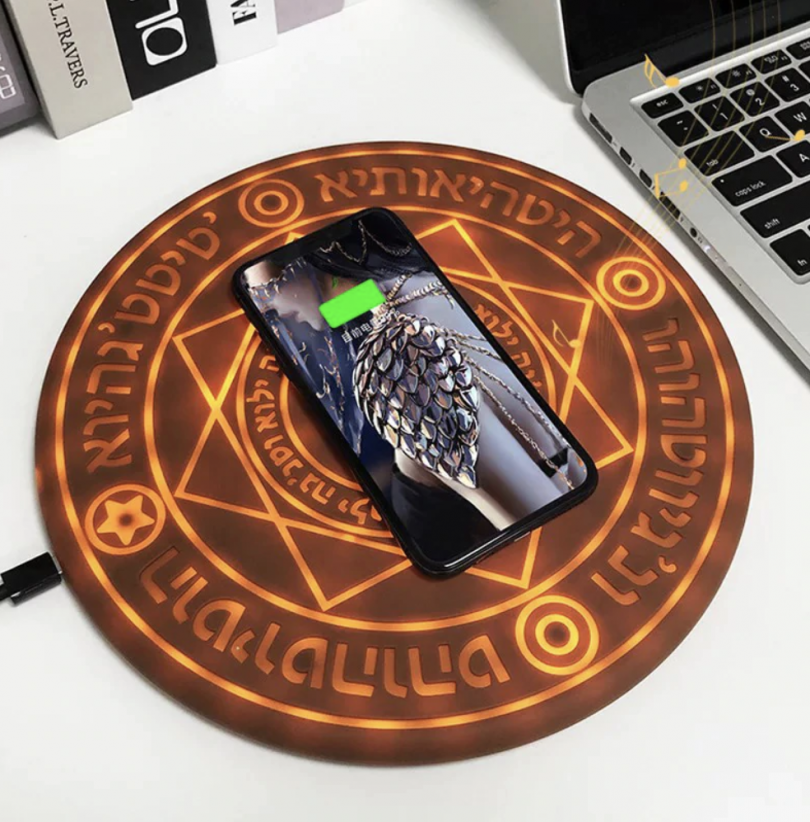 Magic Circle Fast Wireless Charger for All Wireless Supported Phones iPhone and Samsung