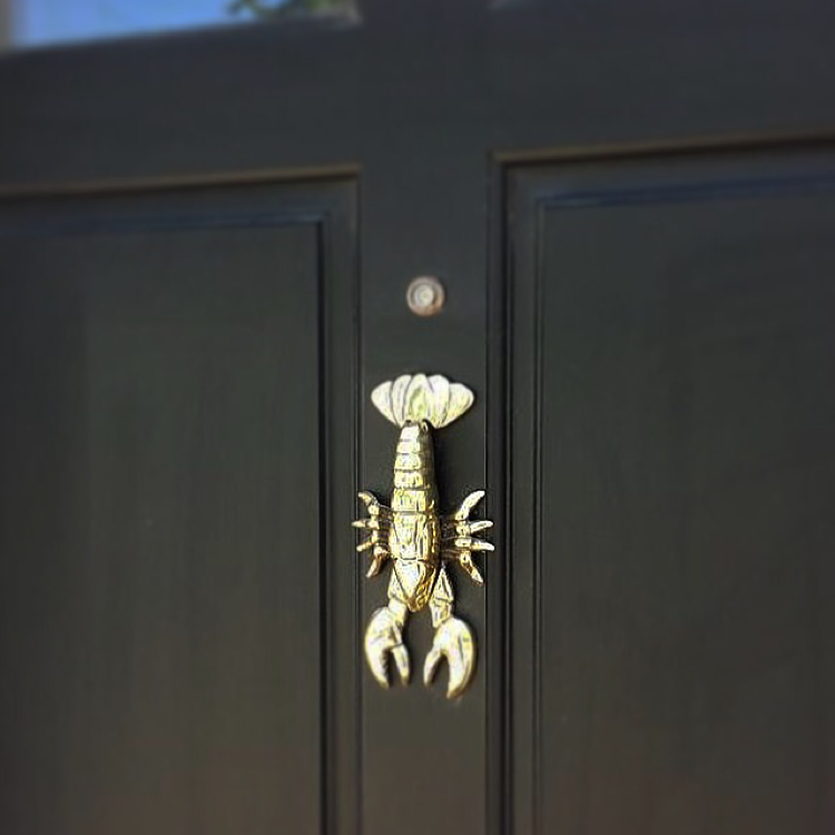 Maine Lobster Door Knocker