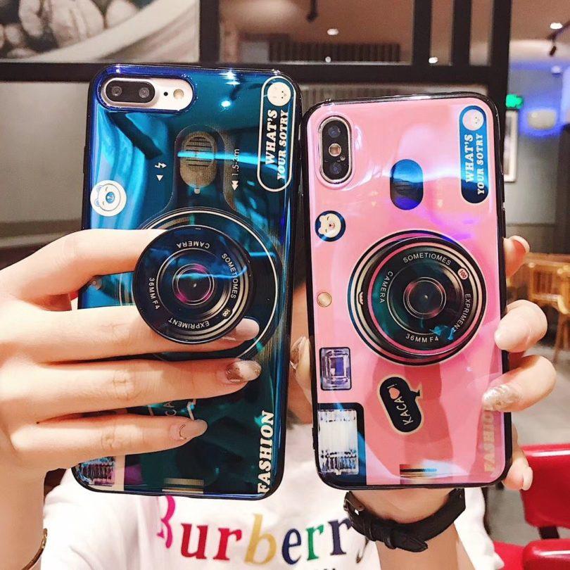 MIHAHA for iPhone 7plus/8plus Camera Case