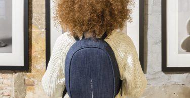 Denim Blue Bobby Elle Anti-Theft Backpack