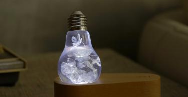 Gift Box – Blue Hydrangea Lamp