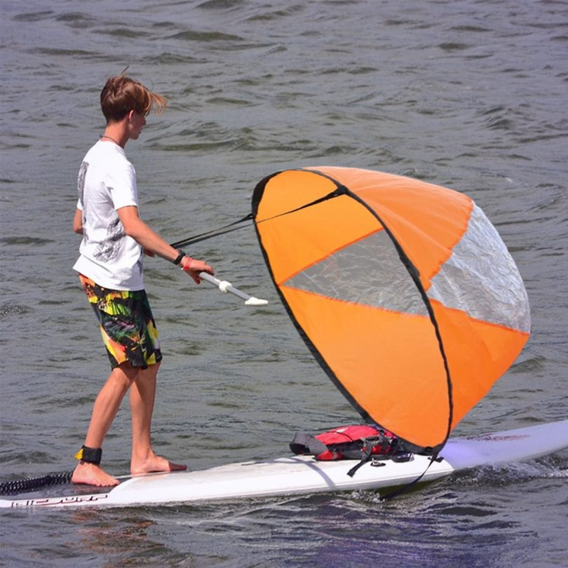 Fold-able Kayak Canoe Boat Sails