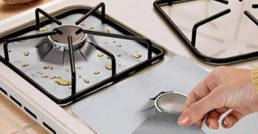 Reusable Gas Stove Burner Protector