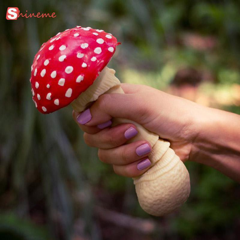 Mushroom Stress Relief Soft Squeeze Toy