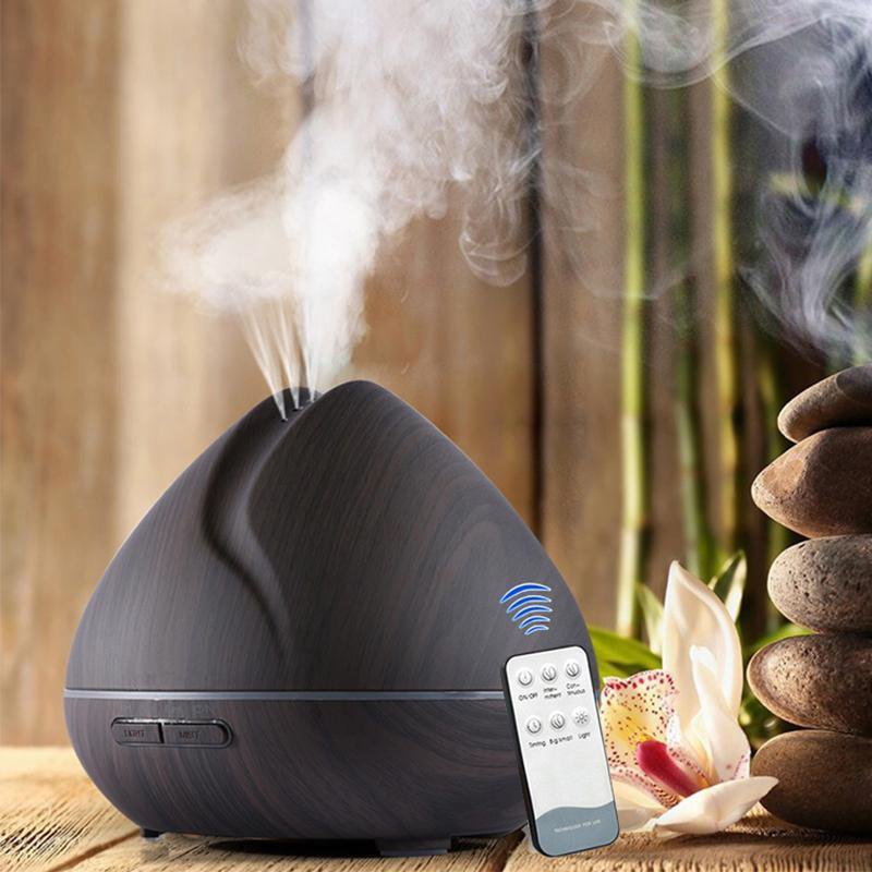 Aromatherapy Essential Oil Diffuser With Led 187 Petagadget