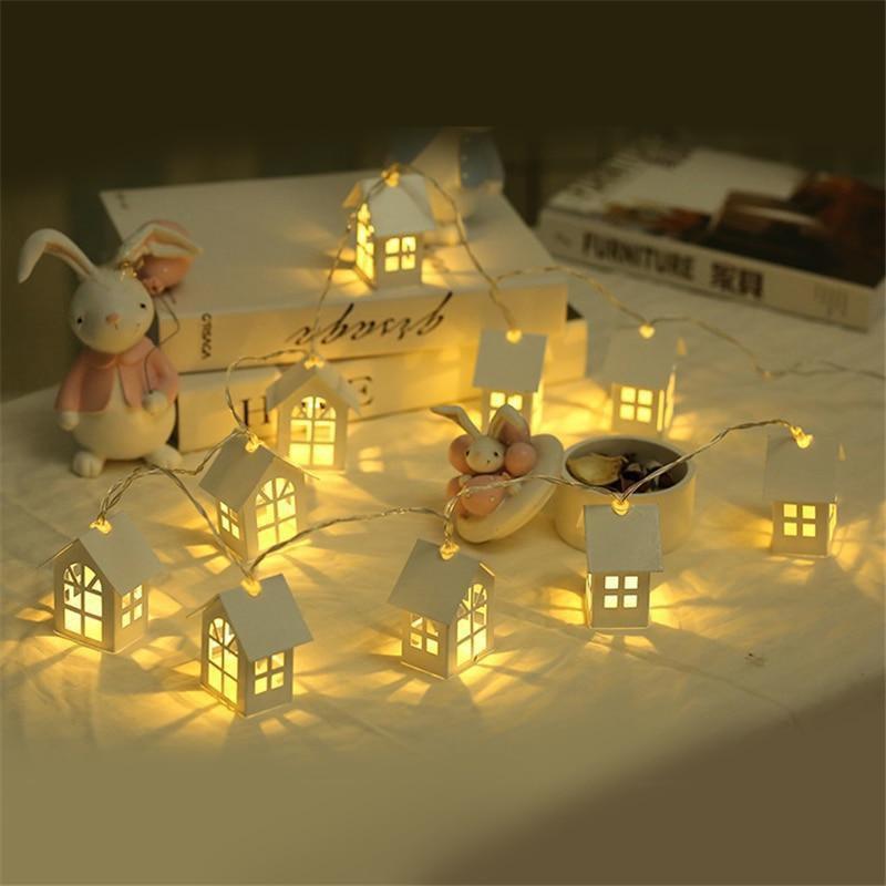 LED Christmas Tree House Fairy String Light