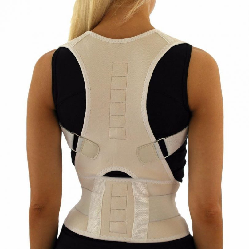Posture-Corrective Therapy Back Brace with Magnets