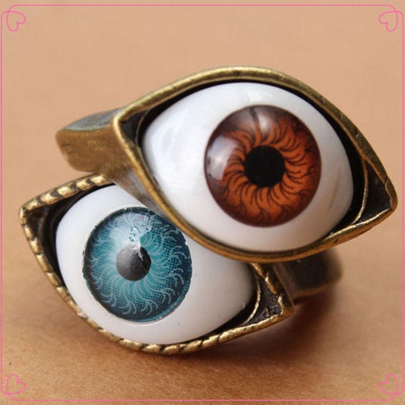 Vintage Evil Eye Finger Ring