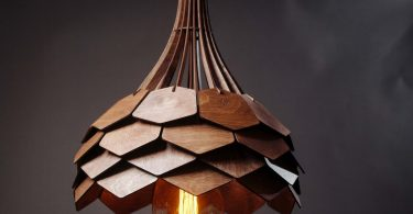 Natural Chandelier Light