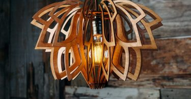 Wood Chandelier Kitchen Lighting