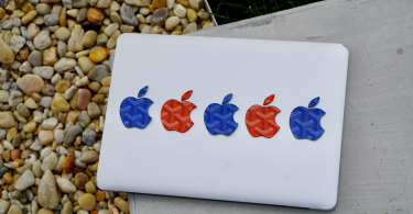 Custom Apple Logo