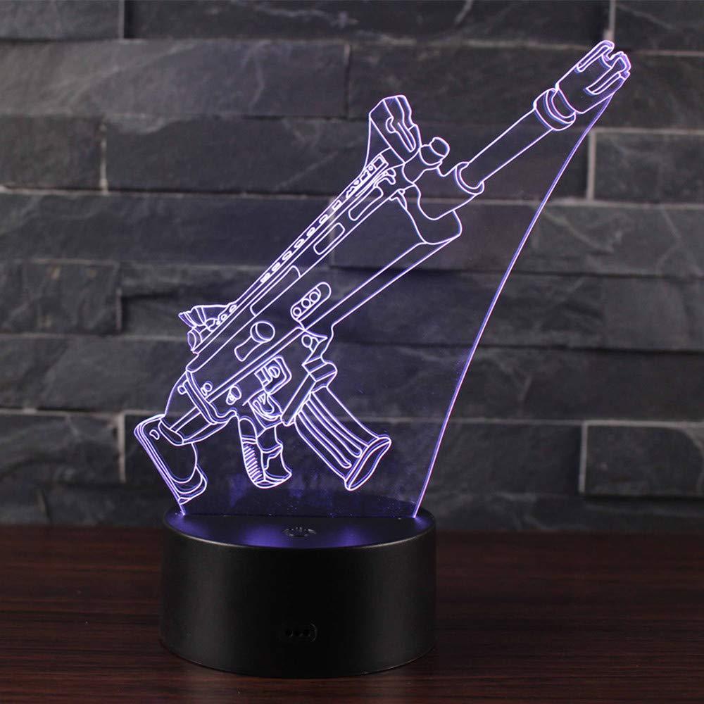 Doremy 3D Illusion LED Night Light Table Desk Lamp