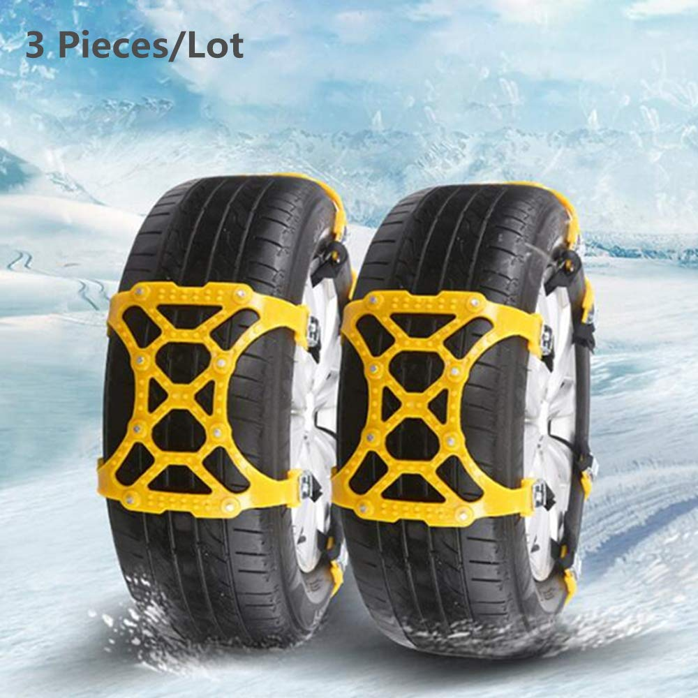 Snow Chains Universal Car Suit 165-265mm Tyre