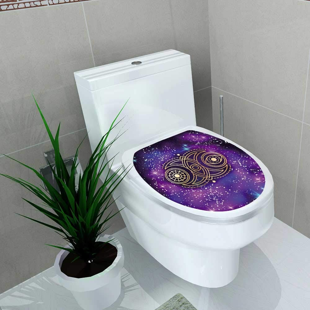 Auraise-home Toilet Seat Wall Stickers