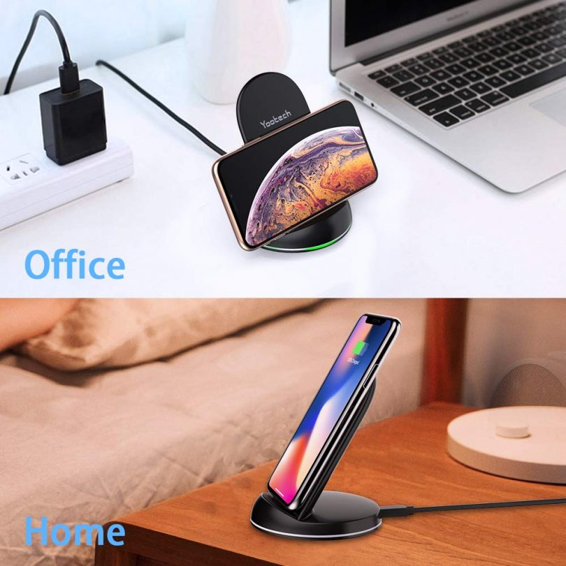 Yootech [2 Pack] Wireless Charger Qi-Certified