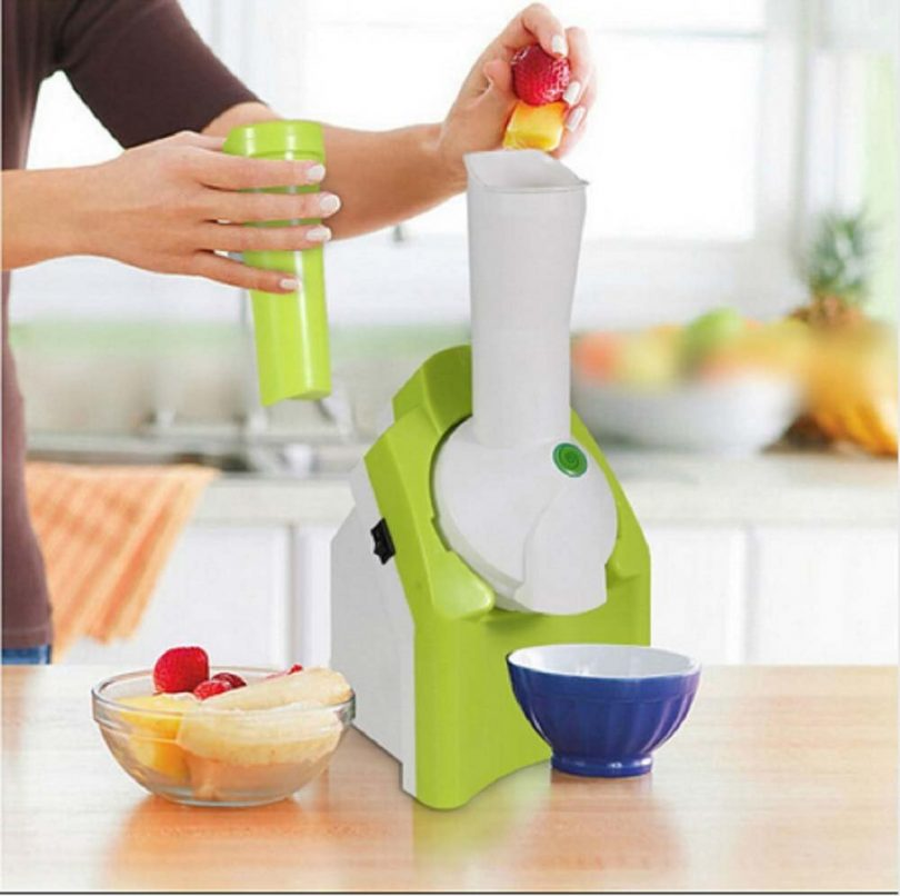 Cool Summer Popular Automatic Fruit Ice Cream Maker