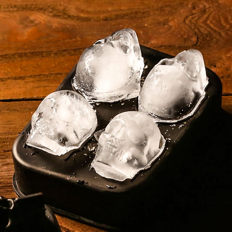 Silicone Ice Skull Mold