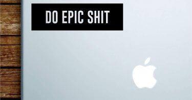 Boop Decals Do Epic Shit Rectangle Laptop Apple Macbook Quote