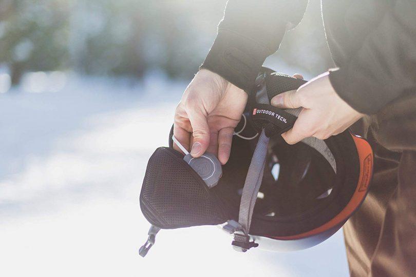 Outdoor Tech Chips 2.0 Universal Wireless Bluetooth Helmet Audio + Walkie-Talkie
