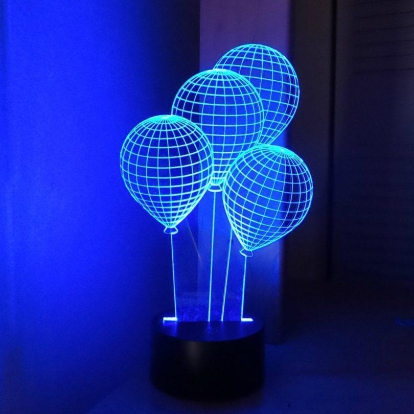 CHIMAERA 3D Magical Optical Illusion Balloons Lamp