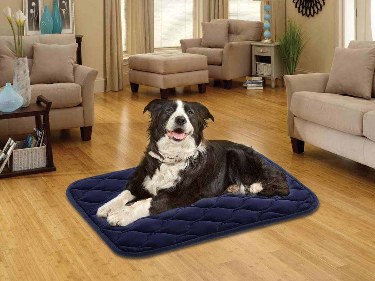 AIPERRO Dog Crate Bed Washable Dog Crate Pad