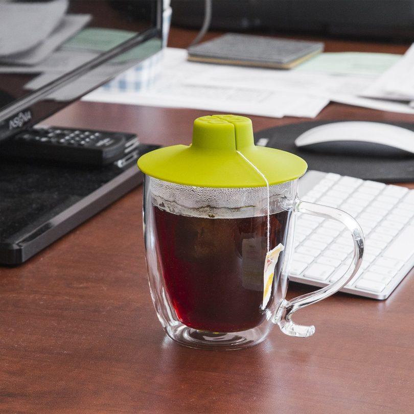 Primula Double Wall Glass Mug and Tea Bag Buddy