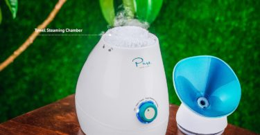 Large 3-in-1 Nano Ionic Facial Steamer with Precise Temp Control
