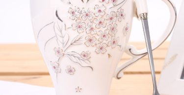 Cherry Blossoms Ceramic Cup