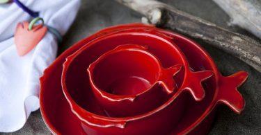 Pesce – 3-Piece Handmade bowl set
