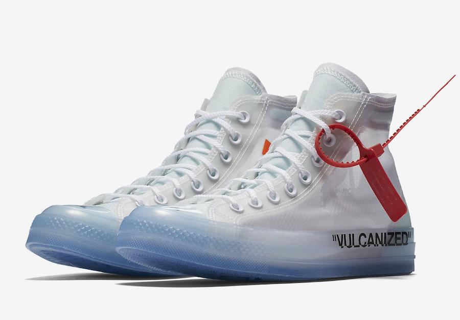 White Canvas Sneaker Translucent Upper Vulcanized Sole