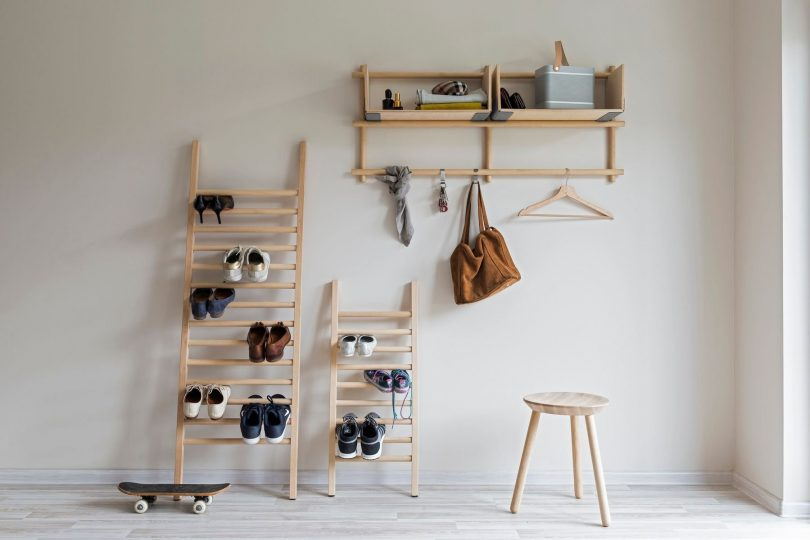 Step Up Large Shoe Shelf by Tore Bleuzé for Emko