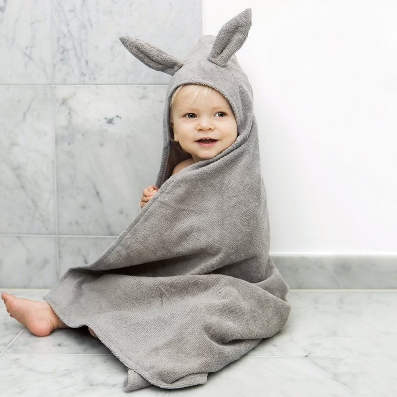 Bunny Hooded Towel by Elodie Details