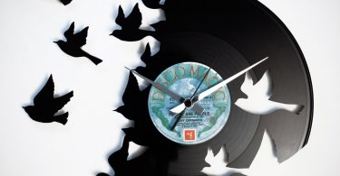 Birds Vinyl Wall Clock